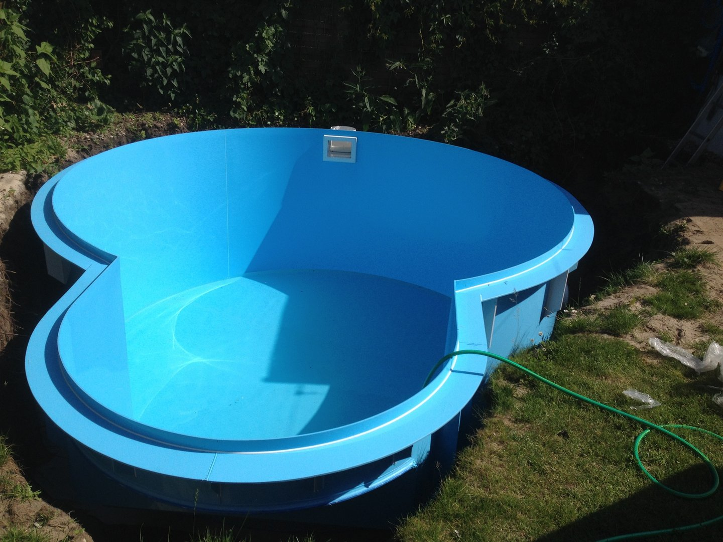 Pool rund 4 m top poolfolie x m x mm innenhlle for Ersatzfolie pool rund